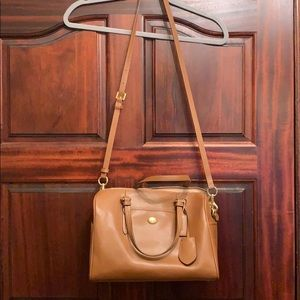 NWT Coach Peyton leather Nancy Satchel